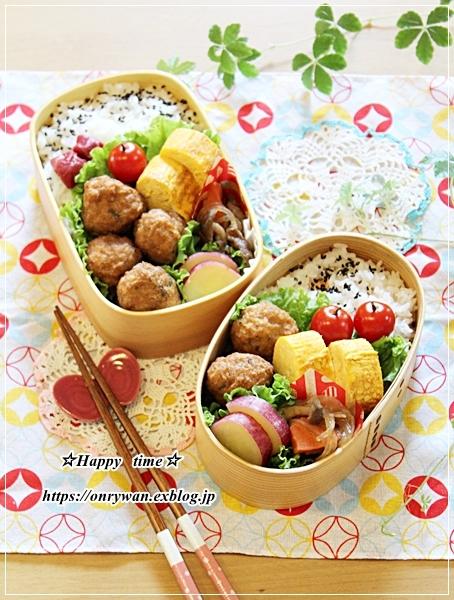 肉団子弁当と長女へプレゼント♪_f0348032_16514531.jpg