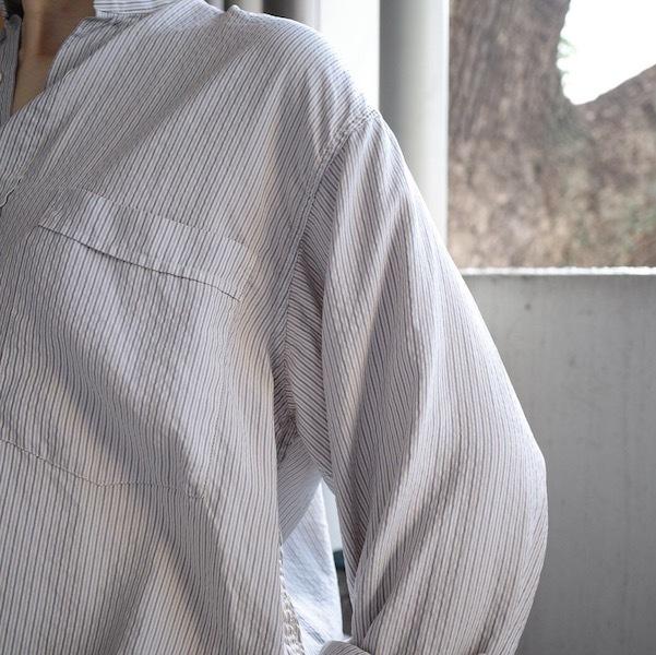 ストライプシルクシャツ_d0364239_19565136.jpg