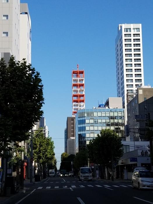 札幌テレビ塔。_d0164343_08315552.jpg