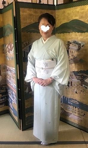 ランチ会・夏小紋に西陣まいづる夏名古屋帯のお客様。_f0181251_17124109.jpg
