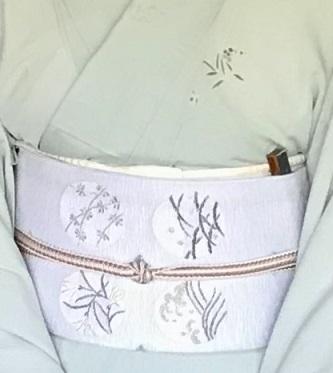 ランチ会・夏小紋に西陣まいづる夏名古屋帯のお客様。_f0181251_17165049.jpg