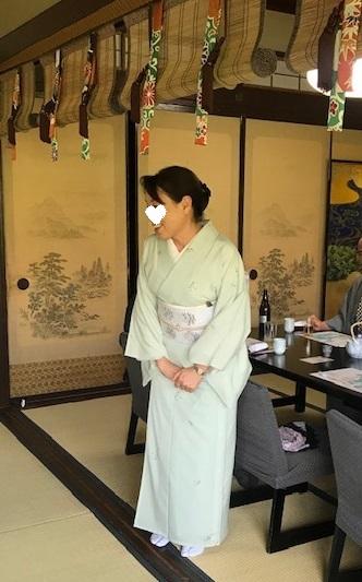 ランチ会・夏小紋に西陣まいづる夏名古屋帯のお客様。_f0181251_17461402.jpg