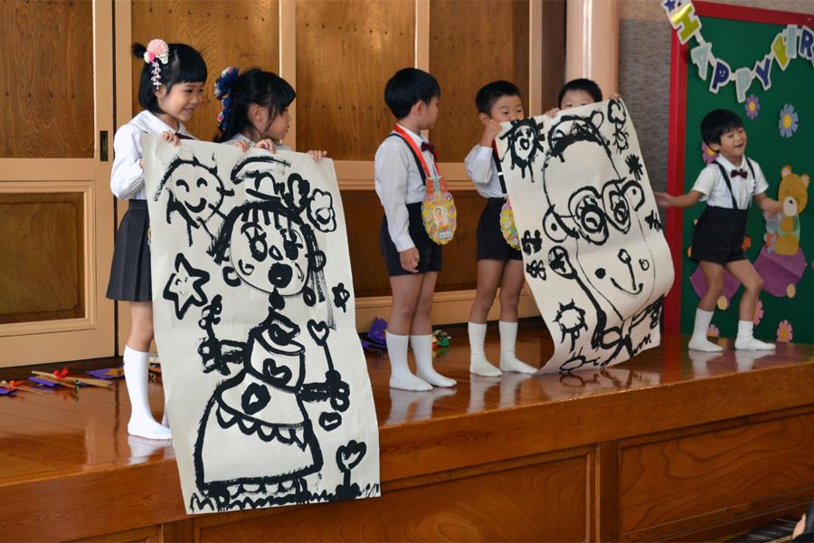 上宮第一幼稚園「お誕生会」_d0353789_15592822.jpg
