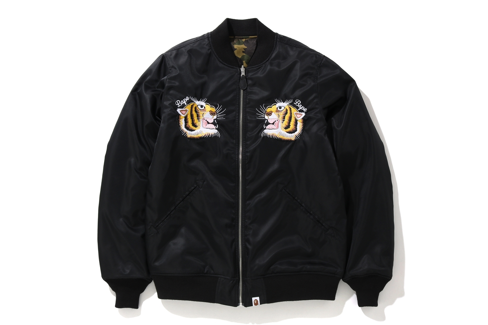 TIGER EMBROIDERY REVERSIBLE JACKET_a0174495_17461837.jpg
