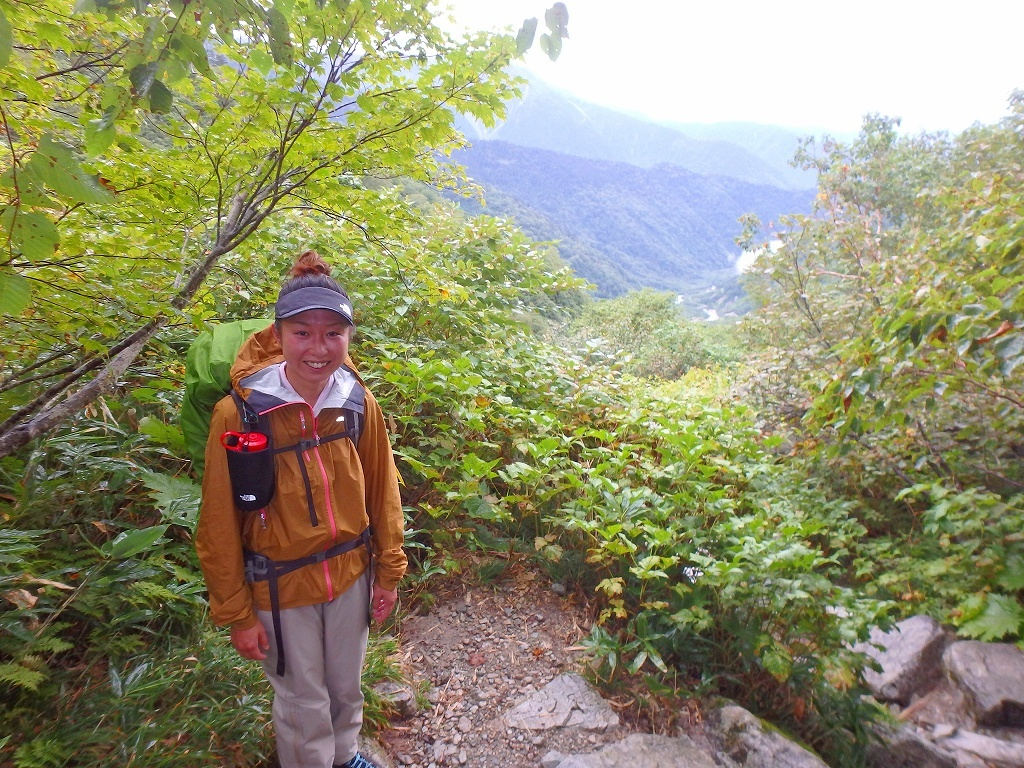 鏡平山荘から下山、2019.9.21_f0138096_22531571.jpg