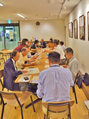地域づくり協議会の事務長会議が開かれました_c0336902_18411756.jpg