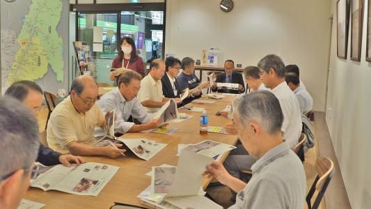 地域づくり協議会の事務長会議が開かれました_c0336902_18412030.jpg