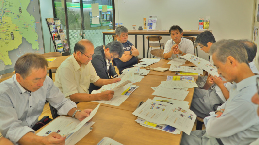 地域づくり協議会の事務長会議が開かれました_c0336902_18412381.jpg