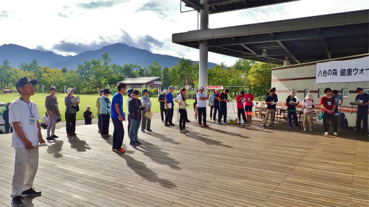 23日は「八色の森健康ウォーキング」が開催されました_c0336902_20393552.jpg