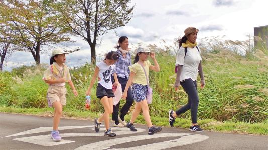 23日は「八色の森健康ウォーキング」が開催されました_c0336902_20412569.jpg