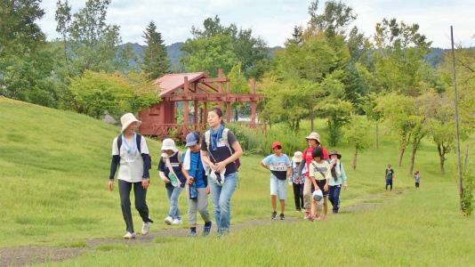 23日は「八色の森健康ウォーキング」が開催されました_c0336902_20412995.jpg