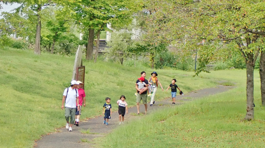 23日は「八色の森健康ウォーキング」が開催されました_c0336902_20413388.jpg