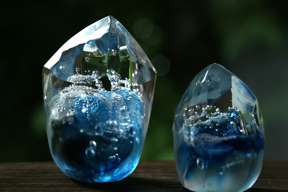 海のかけら 加々美真里 ガラス作品展 始まりました_c0218903_08223228.jpeg