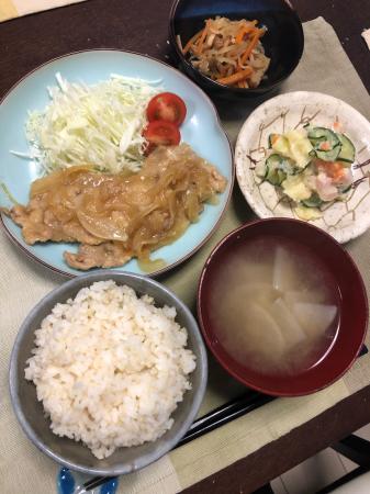 豚肉の生姜焼き_d0235108_21475495.jpg
