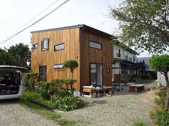 矢巾 田園の中の家 完成へ!_f0105112_04421850.jpg