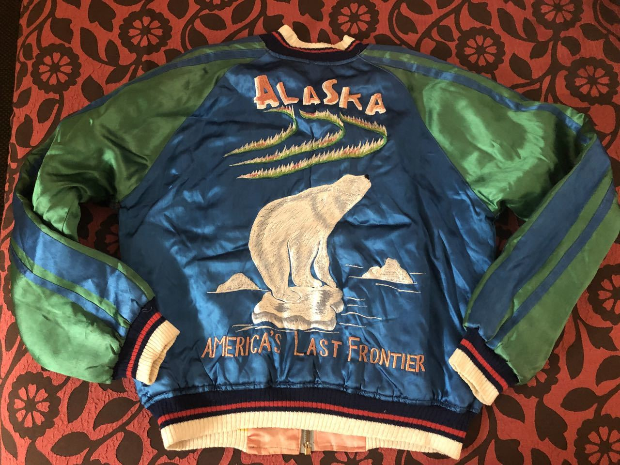 アメリカ仕入れ情報#51 50s ALASKA SOUVENIR ジャケット スカジャン!_c0144020_10015199.jpg