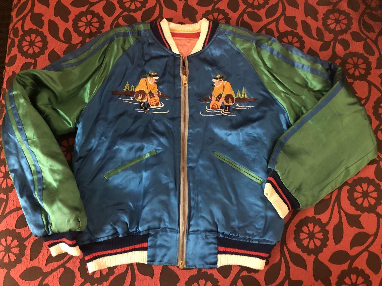 アメリカ仕入れ情報#51 50s ALASKA SOUVENIR ジャケット スカジャン!_c0144020_10015591.jpg