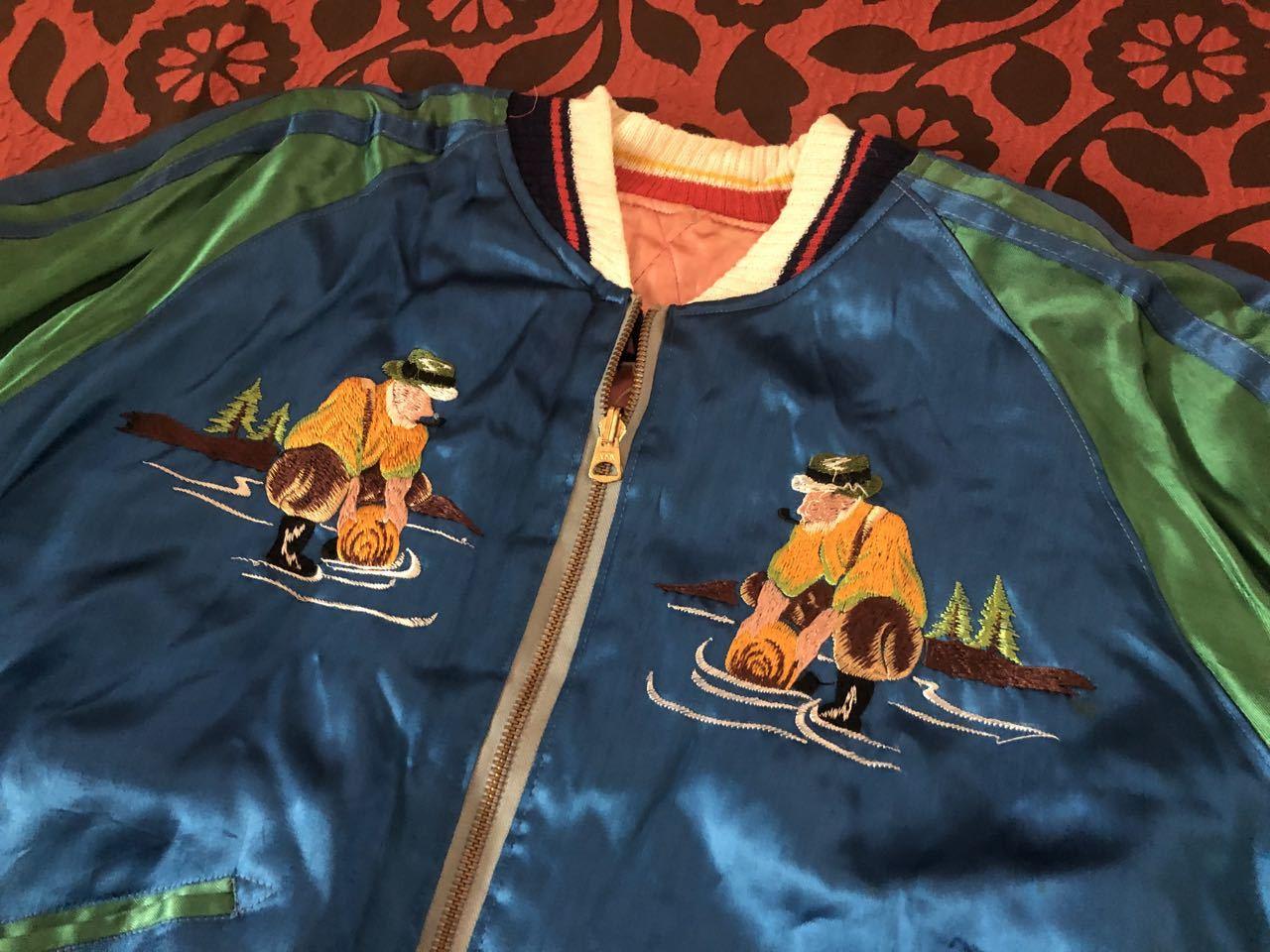 アメリカ仕入れ情報#51 50s ALASKA SOUVENIR ジャケット スカジャン!_c0144020_10015720.jpg