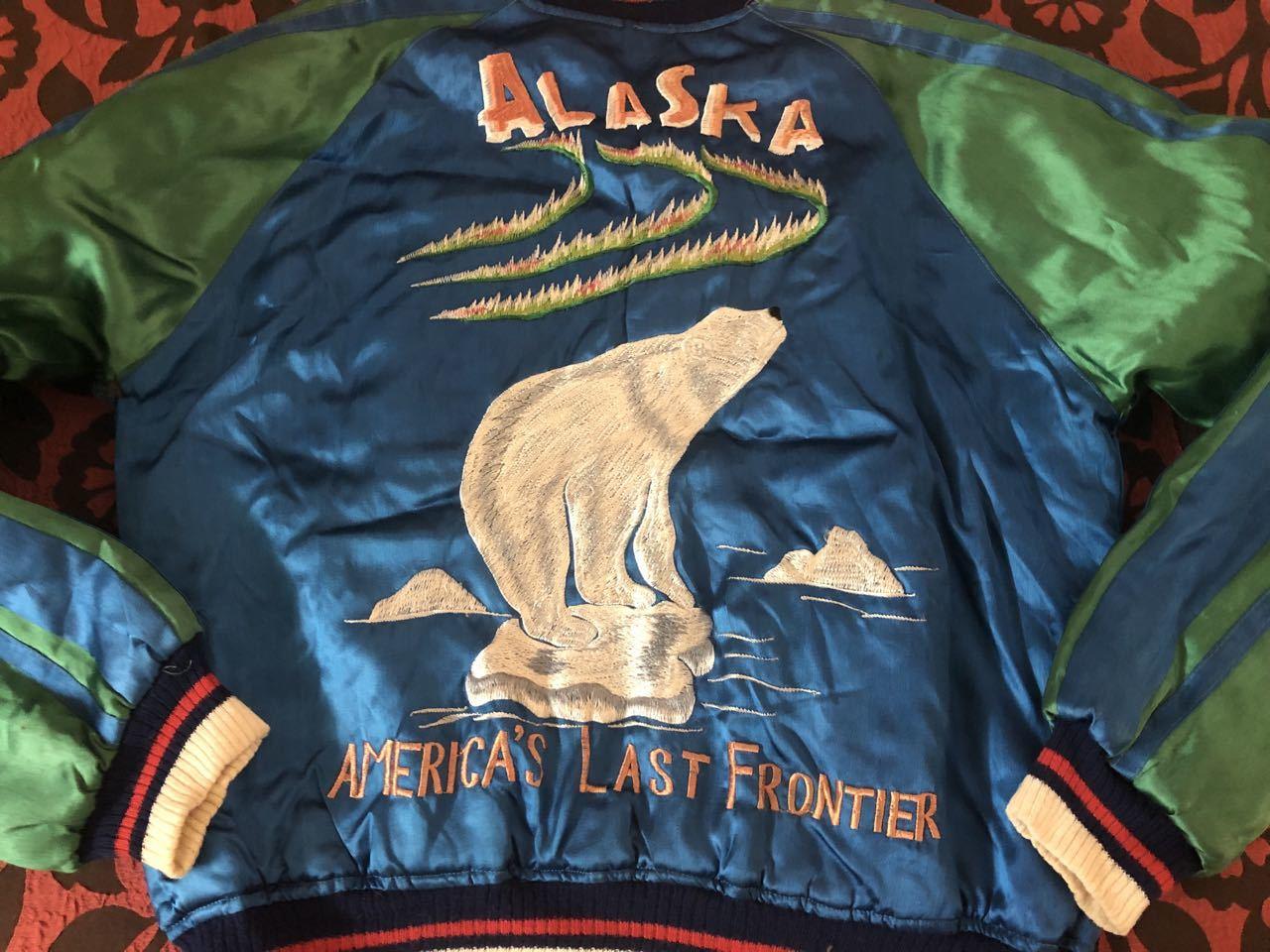 アメリカ仕入れ情報#51 50s ALASKA SOUVENIR ジャケット スカジャン!_c0144020_10020947.jpg