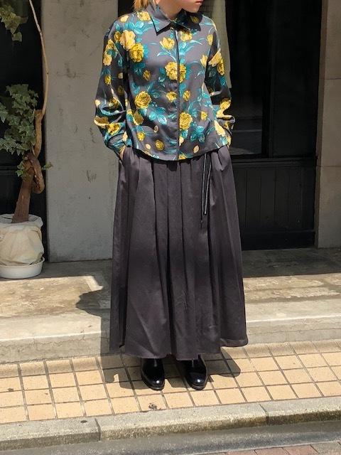 ANTIPAST  Cotton flowerprint blouse & seaislandcotton skirt_a0222424_21055488.jpg
