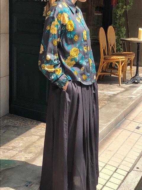 ANTIPAST  Cotton flowerprint blouse & seaislandcotton skirt_a0222424_21080784.jpg