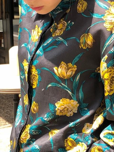 ANTIPAST  Cotton flowerprint blouse & seaislandcotton skirt_a0222424_21081638.jpg