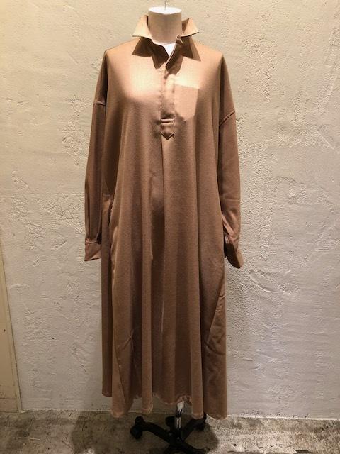 GRANDMA MAMA DAUGHTER   Wide flare shirt dress_a0222424_21364996.jpg