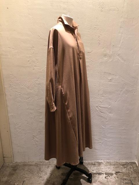 GRANDMA MAMA DAUGHTER   Wide flare shirt dress_a0222424_21365603.jpg