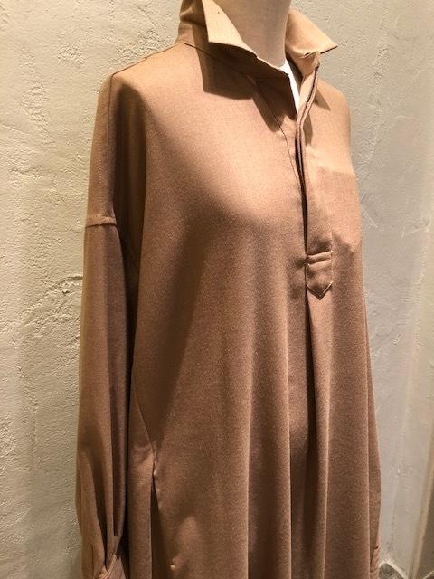 GRANDMA MAMA DAUGHTER   Wide flare shirt dress_a0222424_21370520.jpg