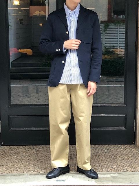 KATO' KNIT IVY jacket & onetuck chinopants_a0222424_22013147.jpg