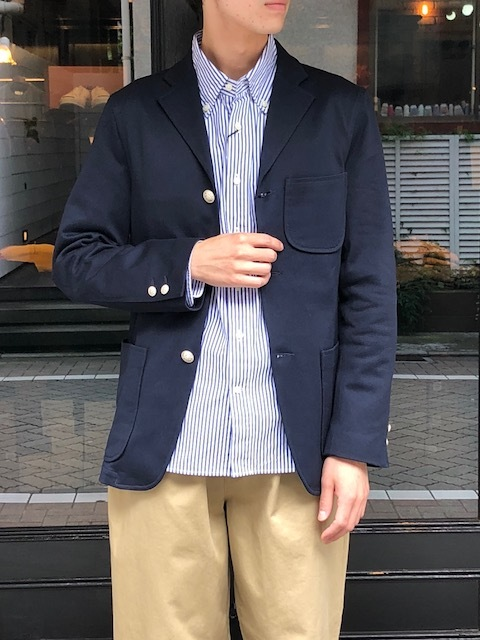 KATO' KNIT IVY jacket & onetuck chinopants_a0222424_22014650.jpg