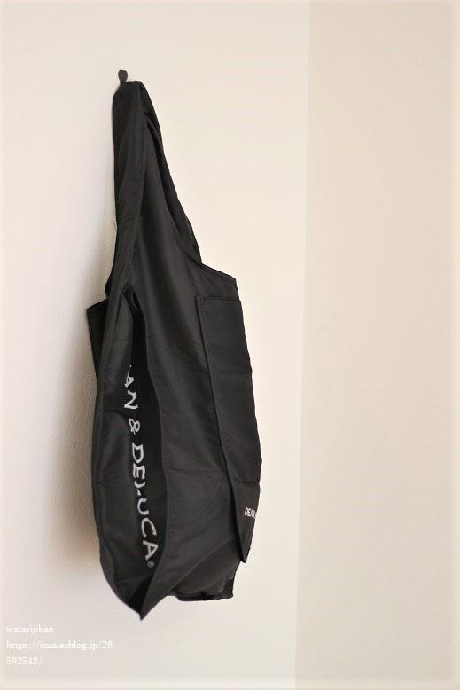 DEAN & DELUCAのショッピングバッグ、クーラーバッグで暮らしやすく_e0214646_20540824.jpg