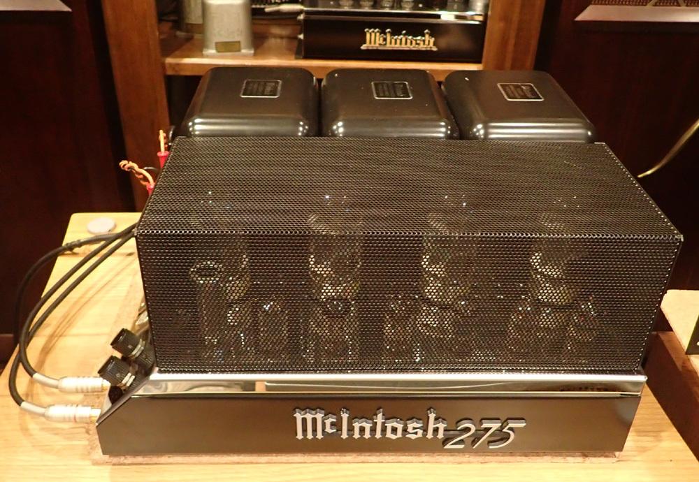 マッキントッシュ MC275R 中古品入荷。_b0262449_15230560.jpg