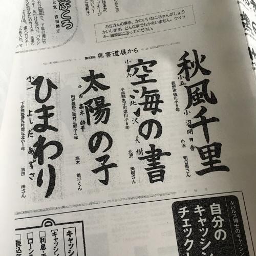 【掲載】信濃毎日新聞_b0132059_12422853.jpg