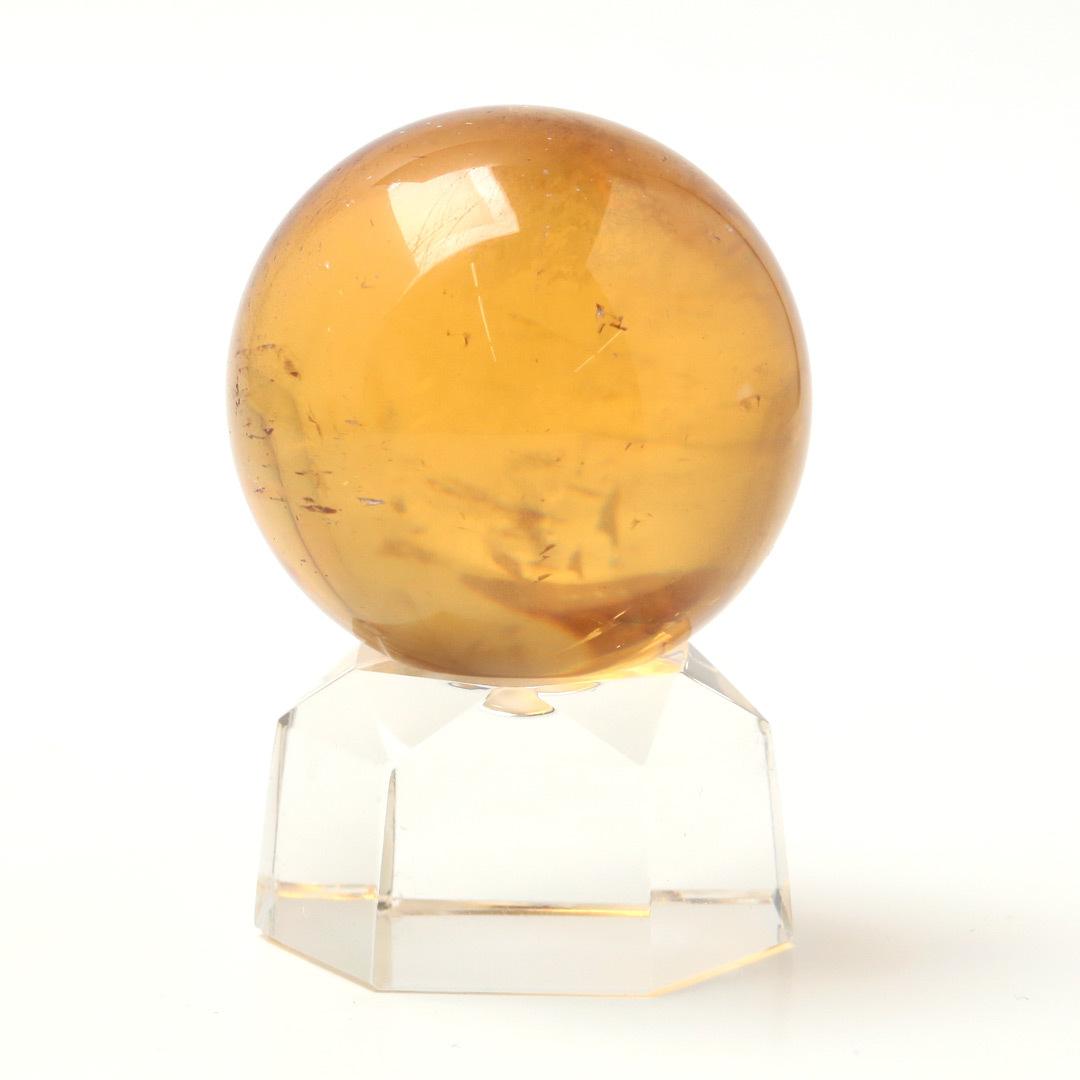 ゴールデンカルサイトの丸玉_d0303974_18301549.jpg