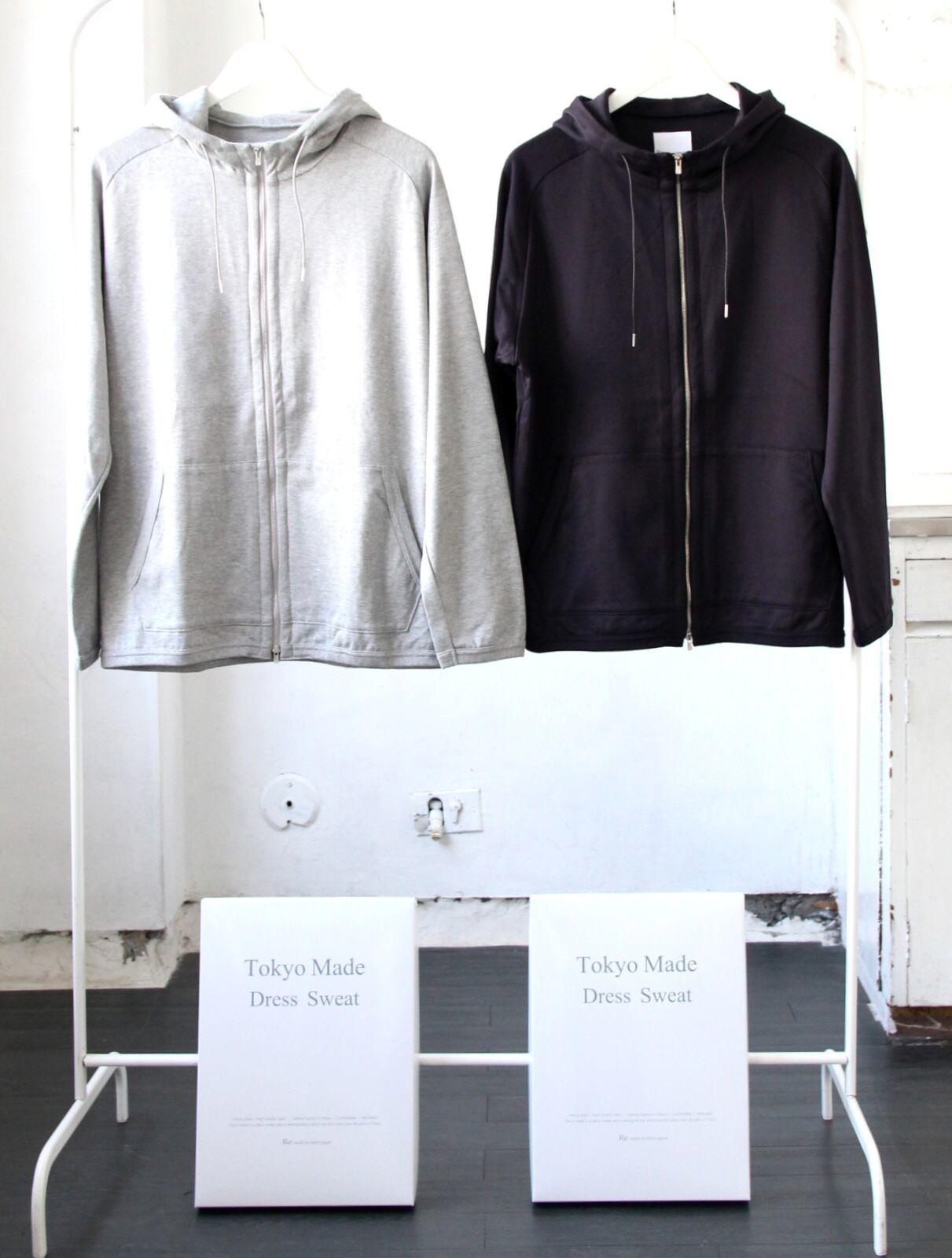 Tokyo Made Dress Sweat Parka_c0379477_18380353.jpg