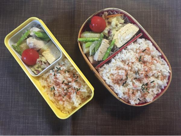 鶏肉とアスパラの炒め物_e0281480_05545945.jpg