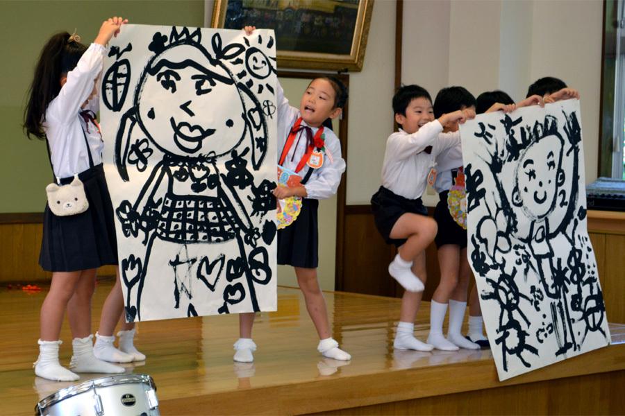 上宮第二幼稚園 「お誕生会」_d0353789_17261095.jpg