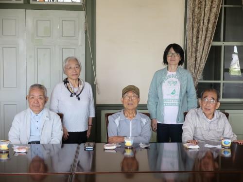 加藤 薫(D34)先輩が来館_c0075701_16031715.jpg