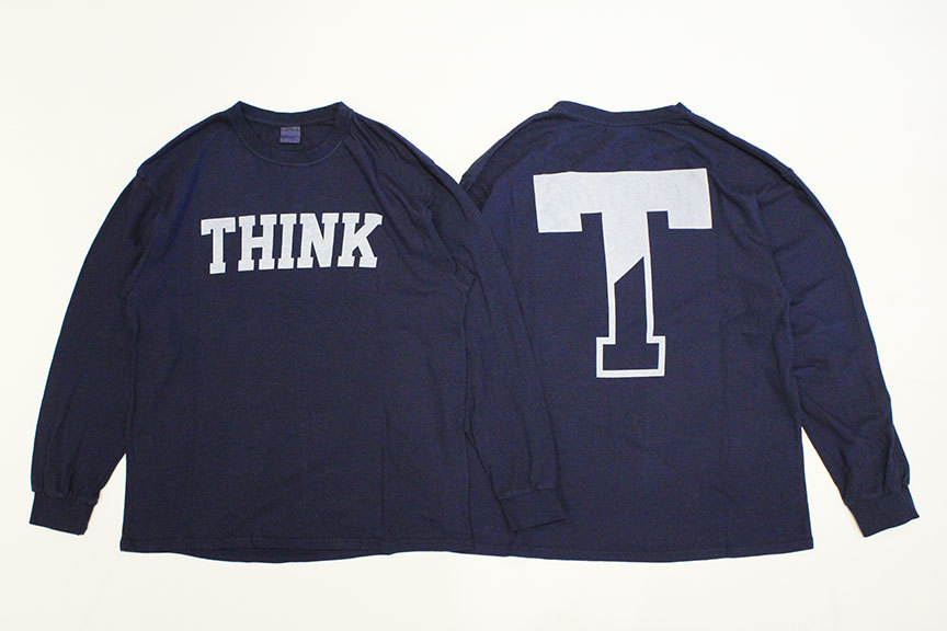 """THE FABRIC (ザ・ファブリック) \"""" SP \' THINK \' L/S TEE \"""" Exclusive_b0122806_12473555.jpg"""