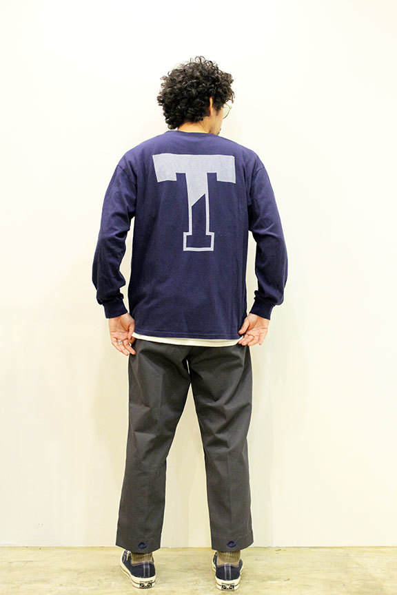 """THE FABRIC (ザ・ファブリック) \"""" SP \' THINK \' L/S TEE \"""" Exclusive_b0122806_12480035.jpg"""