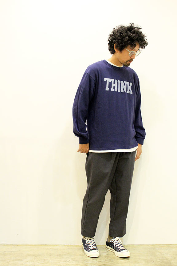 """THE FABRIC (ザ・ファブリック) \"""" SP \' THINK \' L/S TEE \"""" Exclusive_b0122806_12480348.jpg"""