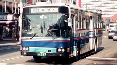 箱根登山鉄道のエアロスターK_e0030537_01194435.jpg