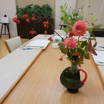 オークリーフ(絵画教室の花5)_f0049672_18180036.jpg