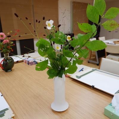 オークリーフ(絵画教室の花5)_f0049672_18180465.jpg
