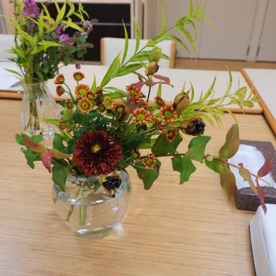 オークリーフ(絵画教室の花5)_f0049672_18181231.jpg