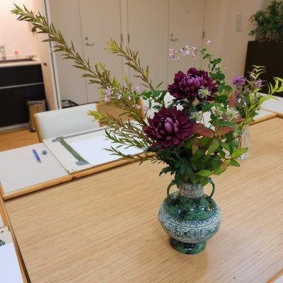 オークリーフ(絵画教室の花5)_f0049672_18181536.jpg