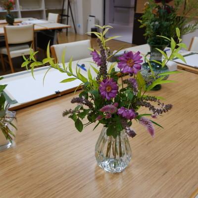 オークリーフ(絵画教室の花5)_f0049672_18182550.jpg