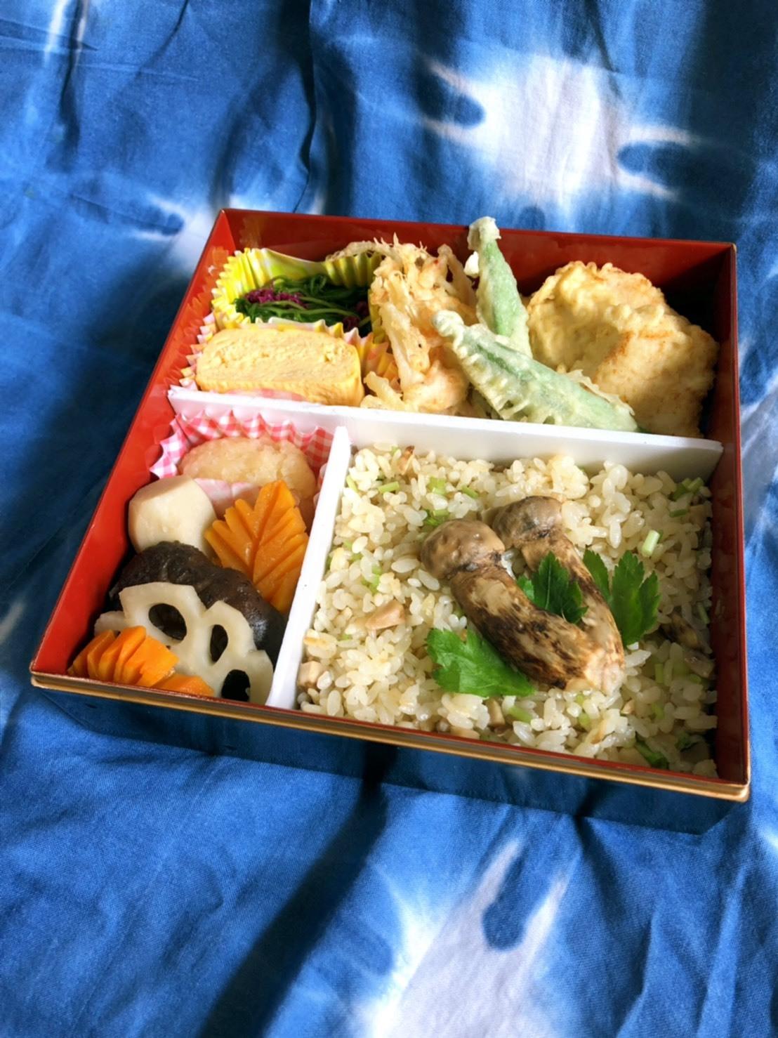 Saturday Lunch Boxes &  ❤ピアソン初孫ちゃんが来たっ❤_b0376788_14282046.jpg