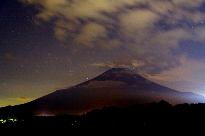 令和元年9月の富士(26)花の都公園夜空の富士_e0344396_10455511.jpg